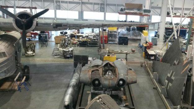 El prototipo del Ho 229 se encuentra en proceso de restauración.