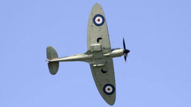 En los años 40 la mayoría de las aeronaves tenían alas elípticas, como el Spitfire