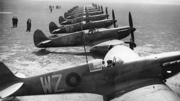 Los Spitfires tuvieron un papel decisivo en la Batalla de Inglaterra.