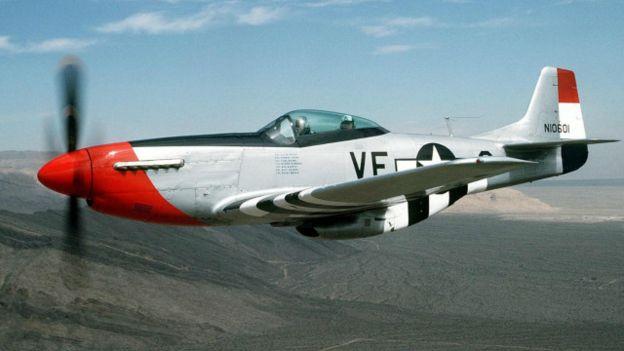 El P-51 Mustang también fue usado en los primeros vuelos supersónicos.