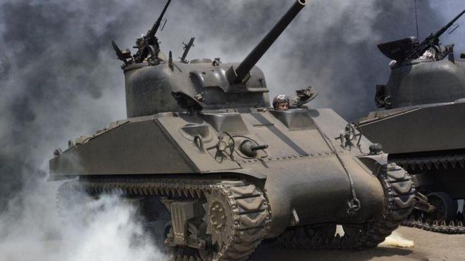 Los tanques fueron fundamentales para la victoria en Normandía.