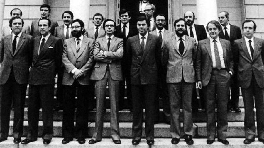 Imagen del primer gobierno de Felipe González, en 1982.