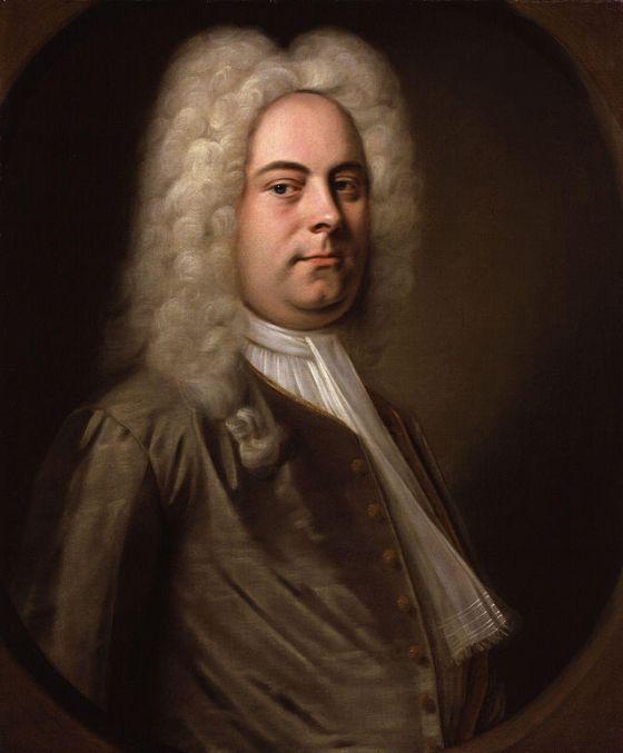 Retrato de Händel, por Balthassar Denner (1727), Museo de Londres