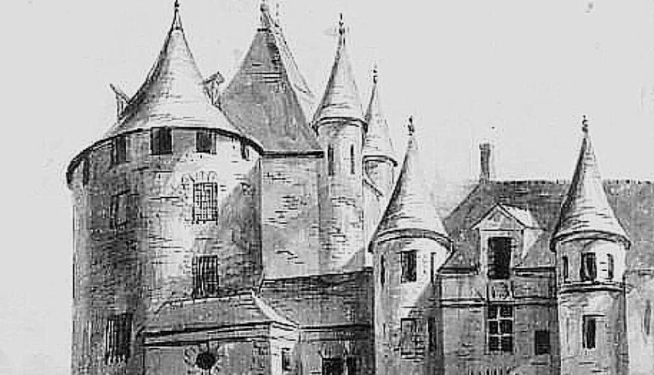 El Châtelet fue construido en el siglo IX y derribado durante el siglo XIX.