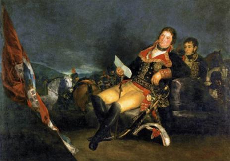 Manuel Godoy, por Francisco de Goya.