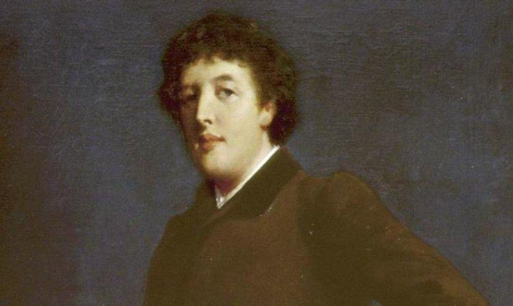 Retrato de Oscar Wilde pintado por Robert Goodloe que abre la exposición