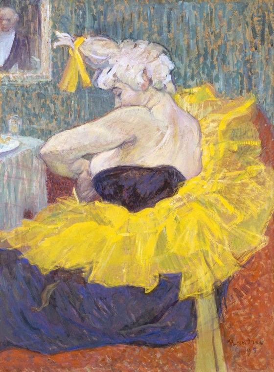 El clownessa Cha-U-Kao (1895, La clownesse Cha-U-Kao ) Museo de Orsay , París