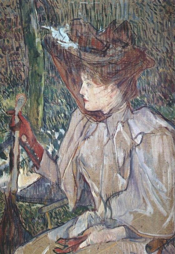 La mujer con guantes (La femme aux gants)