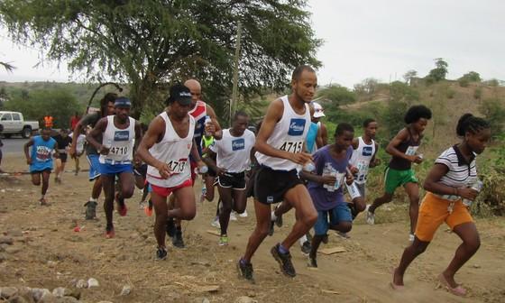 Carrera en Cabo Verde, cerca de Pedra Badejo. / J.N.