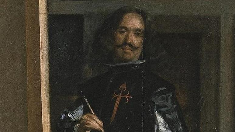 Diego de Velázquez, en un detalle de Las Meninas