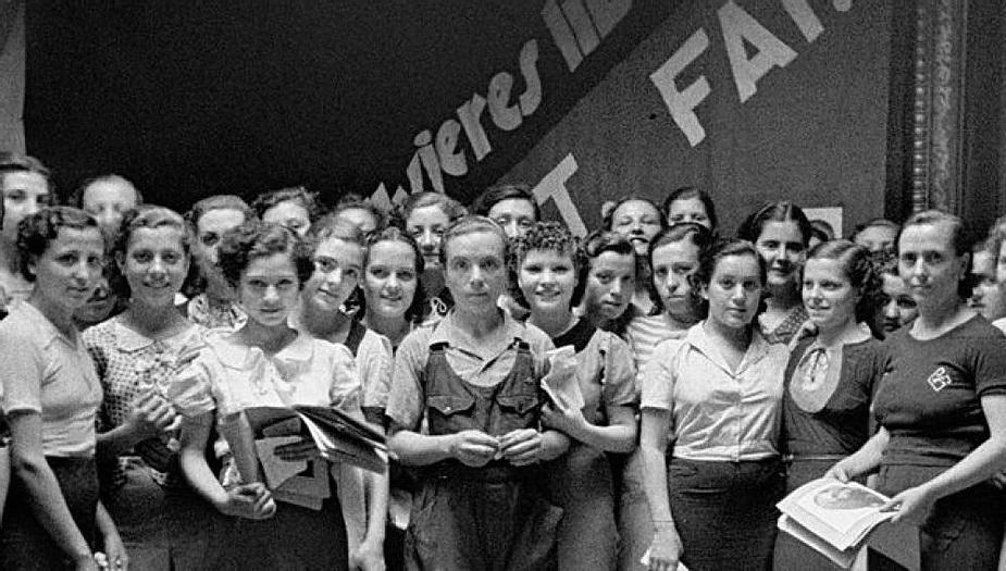 Mujeres anarquistas que componían la agrupación Mujeres Libres   CGT